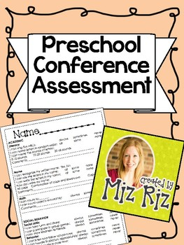 Preschool Conference Assessment