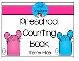 Preschool Counting Book - Mice