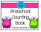 Preschool Counting Book - Monsters