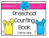 Preschool Counting Book - Numbers 6 to 10