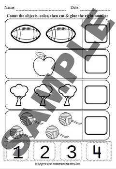 Preschool Counting Object Pack