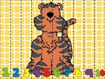 Preschool Counting Puzzles 1-10