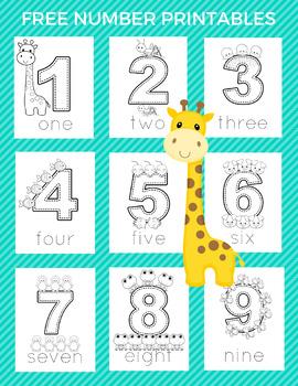 Preschool Counting Workbook