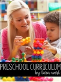 Preschool Curriculum BUNDLED | HOMESCHOOL COMPATIBLE |