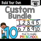 Preschool Curriculum - Create a Custom Bundle 10 pack