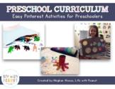 Preschool Curriculum, Homeschool Curriculum