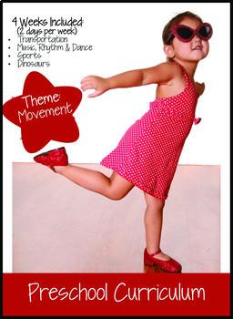 Preschool Curriculum: Movement