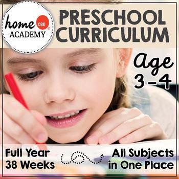 PRESCHOOL CURRICULUM (Age 3-4)