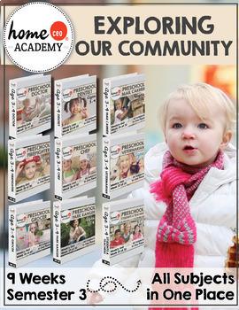 PRE-K PREK PRESCHOOL CURRICULUM Complete Year Lesson Plans Preschool Printables