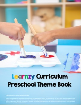 Preschool Curriculum Theme Book with 80 Preschool Themes