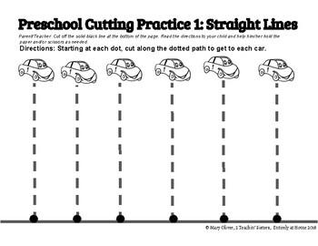 Preschool Cutting Practice Activity Packet by 2 Teachin ...