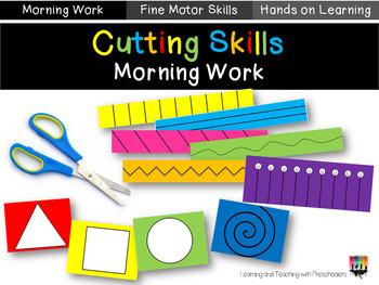 Preschool Cutting Skills