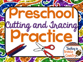 Preschool Cutting and Tracing Practice