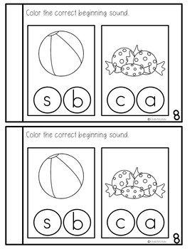 Preschool Language Arts Journal NO PREP - September