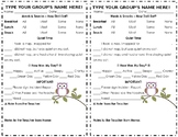 Preschool Daily Sheet