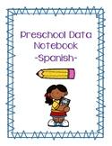 Preschool Data Notebook - Spanish