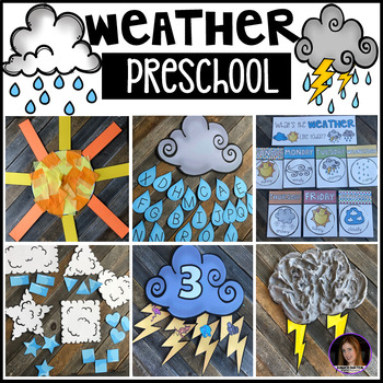 Preschool Curriculum Thematic Lessons, Centers and Activities Bundle #2