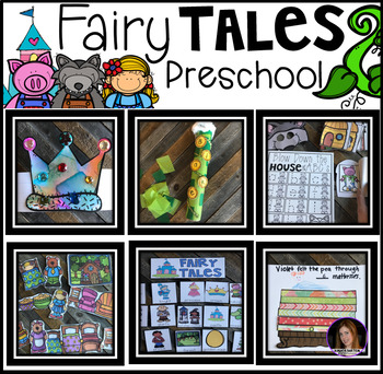 Preschool Bundle #2 Curriculum Lessons, Centers and Activities