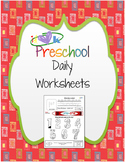 Preschool Days of the Week Worksheet