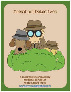 Detectives mini packet
