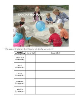 Preschool Development Quiz