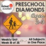 Diamonds Preschool Unit - Printables for Preschool, PreK, Homeschool Preschool