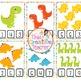 Preschool Dinosaur Math Activity