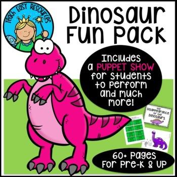 Dinosaur Unit for Preschool and Kindergarten - Teach Easy Resources