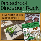 Dinosaur and Fossil Activities for Preschool