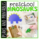 Preschool: Dinosaurs {Plans and Printables}