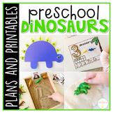 Preschool: Dinosaurs {Plans and Printables}