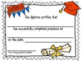 Preschool Diploma 2018