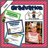 Preschool Diploma & Completion Certificates & Crowns Edita