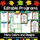"Preschool Diplomas, Invitations, Program - ""How To"" Kit"