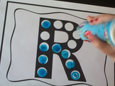 Preschool Do-A-Dot Weekly Curriculum Activities.  Prints 1