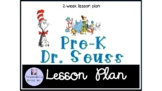 Preschool Dr. Seuss Themed lesson plan