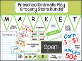 Preschool Dramatic Play Grocery Store Kit
