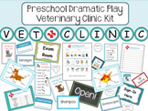 Preschool Dramatic Play Vet Clinic Kit