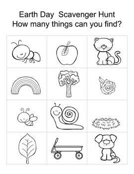 Distance Learning: Preschool Earth Day Activities