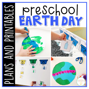 Preschool: Earth Day {Plans and Printables}