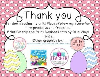 Preschool Easter Egg Math Activities