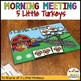 Preschool-Elementary Morning Meeting or Circle Thanksgiving ADD-ON KIT