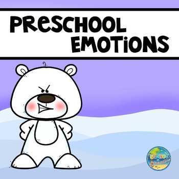 Preschool Emotions Polar Bears