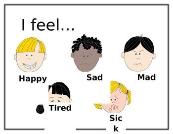 Preschool Emotions Poster