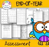 Preschool End-of-Year Assessment to test Kindergarten Readiness