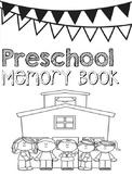 Preschool End of Year Memory Book