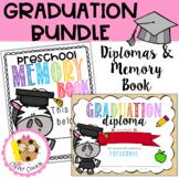 Preschool End of the Year Graduation BUNDLE {Diplomas and Memory Book}
