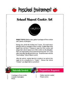 Preschool Environment Lesson
