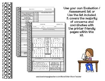 Preschool Evaluation Assessment Kit {PbN} Pre-K