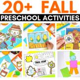 Preschool FALL Theme Activities and Printables | Pre-K